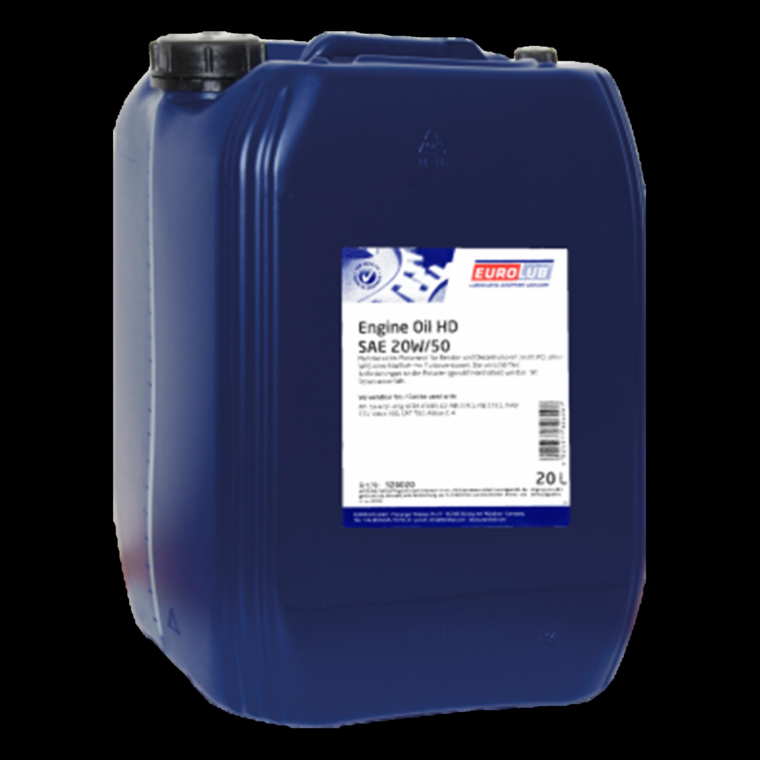 ENGINE OIL HD SAE 20W-50